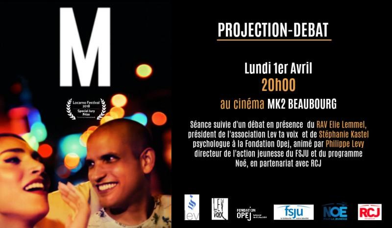 Projection-débat du film  M de Yolande Zauberman